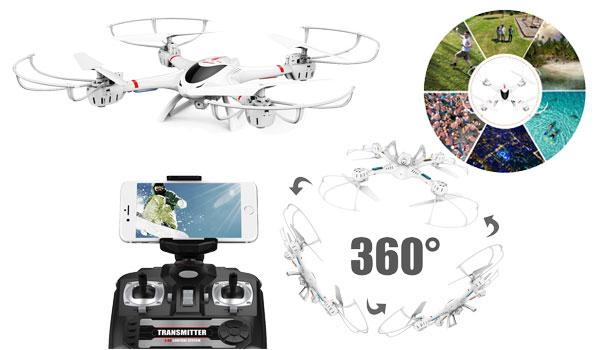 DBPower MJX X400W FPV Drone
