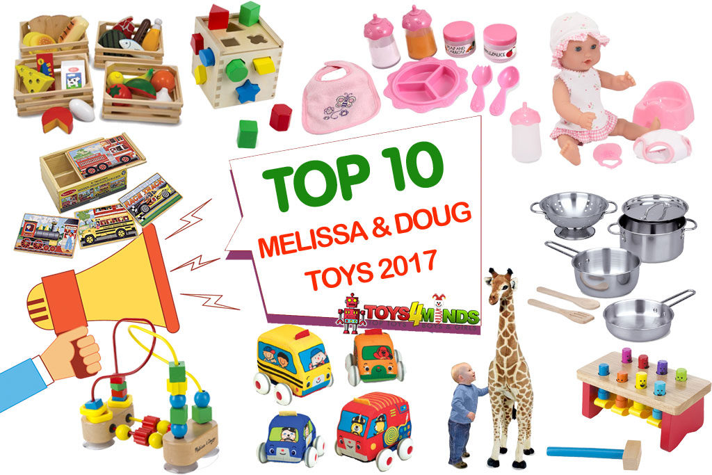 Best Melissa and Doug Toys 2017