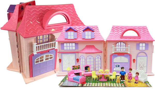 Boley Pretend Play Doll House Toy