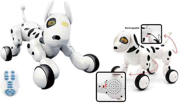 Hi Tech Wireless Remote Control Robot Interactive Puppy