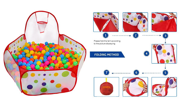 Kuuqa Kids Ball Pit Ball Tent Toddler Ball Pit  sc 1 st  Hottest Toys for Christmas 2018 & Best Ball Pit for Toddlers 2018 - Toys4Minds.com