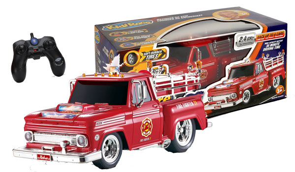 KidiRace RC Remote Control Fire Engine Truck