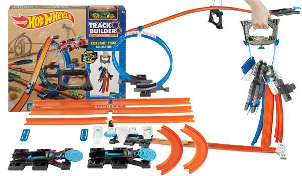 hot wheels track builder starter set instructions