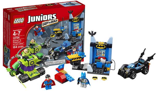 LEGO Juniors Batman & Superman vs. Lex Luthor 10724 Superhero Toy