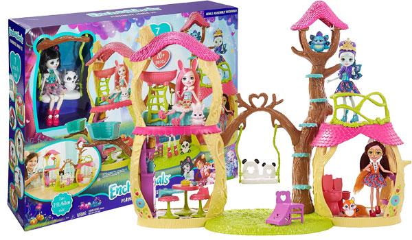 Enchantimals Panda Tree House Playset Review