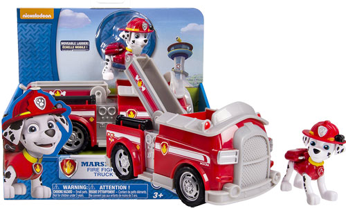 Paw Patrol Marshall's Fire Fightin' Truck, Vehicle and Figure