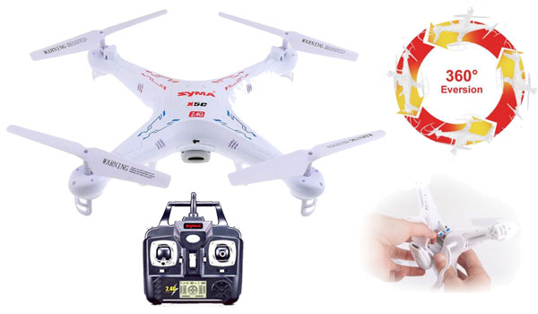 Syma X5C Quadcopter Drone with HD camera