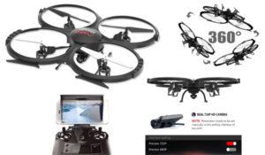 WIFI FPV Version U818A Drone with 720P HD Camera