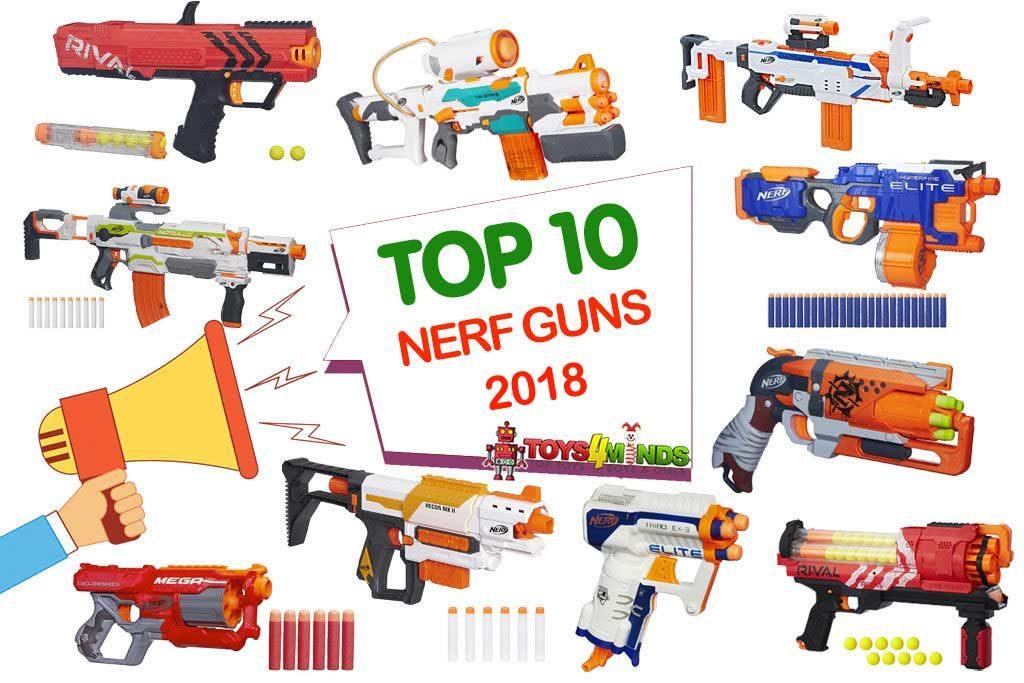 Best Nerf Guns 2018