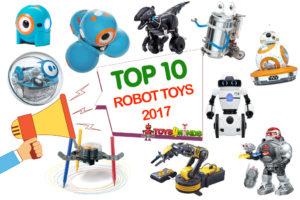 Best Robot Toys 2017