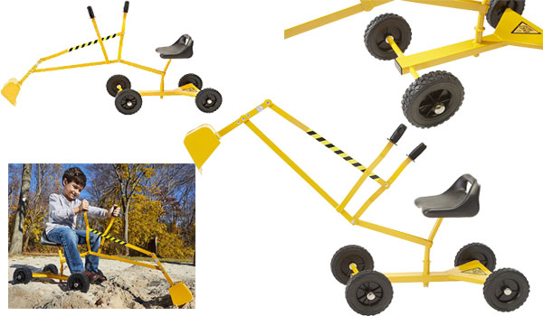 Reeves International The Dig and Roll Ride On with Wheels
