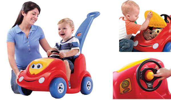 Step2 Push Around Buggy Toddler Push Car, 10th Anniversary Edition, Red