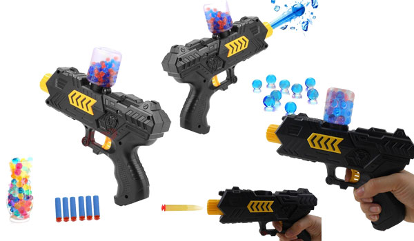 EXSPORT Foam Dart Gun with 2000PCS Water Polymer Balls