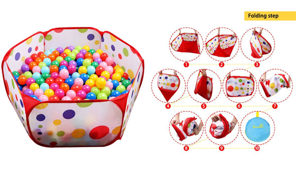 EocuSun Kids Ball Pit Playpen