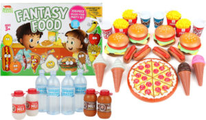 Play Food Set for Kids - Huge 202 Piece Pretend Food Toys