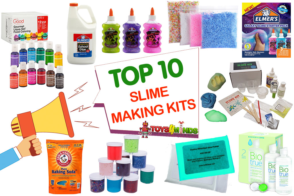 Top Trending Toys For Boys : Best slime making kits to toys minds