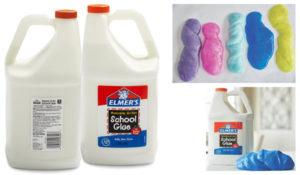 Elmer's Liquid School Glue, Washable, 1 Gallon, 1 Count - Great For Making Slime