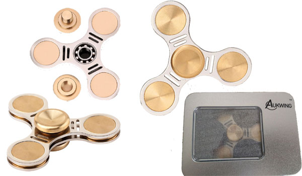Aukwing Copper Fidget Spinner Toy