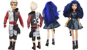 Disney Descendants Two-Pack Evie Isle of the Lost and Carlos Isle of the Lost Dolls