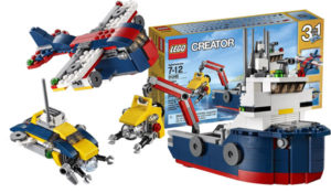 LEGO 31045 Creator Ocean Explorer Science Toy for Kids
