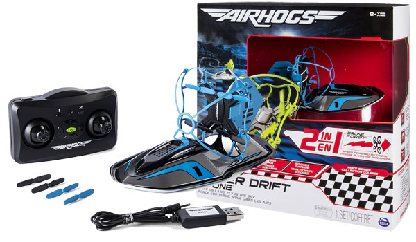 Air Hogs 2-in-1 Hyper Drift Drone Review