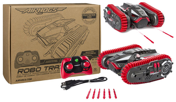 Air Hogs Robo Trax R/C Tank Review