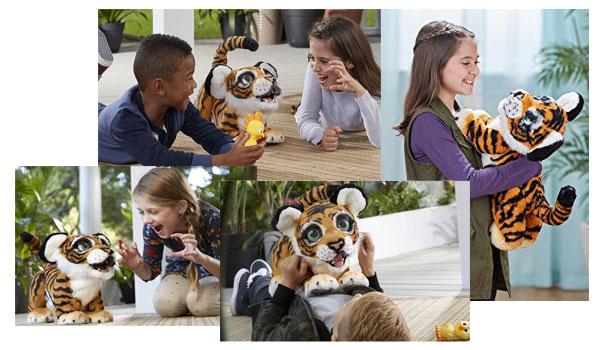 Roarin' Tyler, the Playful Tiger pet