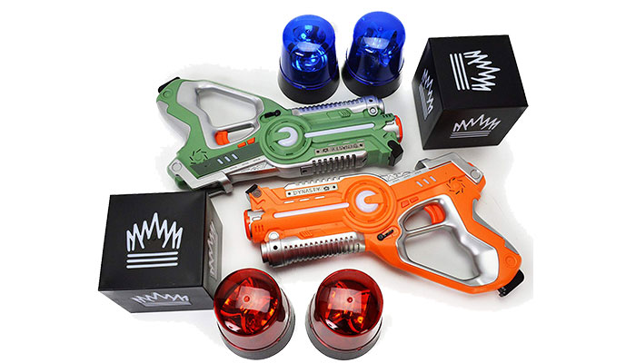 Dynasty Toys Capture The Flag Laser Tag Set