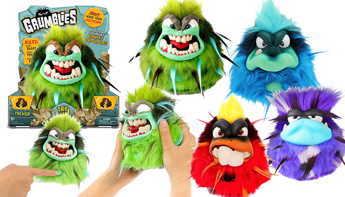 slated for release in august the grumblies make it to the hottest toys 2018 list because they are the perfect gift for the lover of the elements