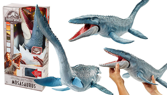 Jurassic World Real Feel Mosasaurus Figure