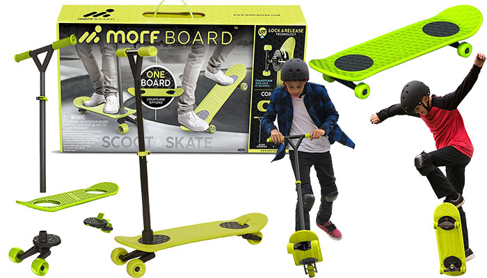 MorfBoard Skate & Scooter Combo Set