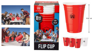 Wicked Big Sports Supersized Flip Cup