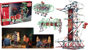 K'NEX Web Weaver Roller Coaster Thrill Rides Set