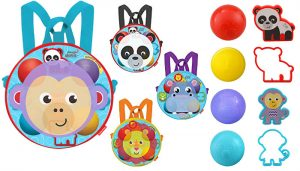Dough Dots! On The Go Silhouette Backpack Playset