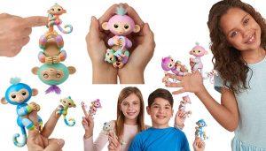 WowWee Fingerlings Baby Monkey & Mini Bffs