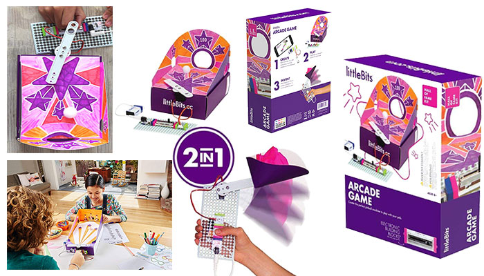 LittleBits Arcade Game Starter Kit