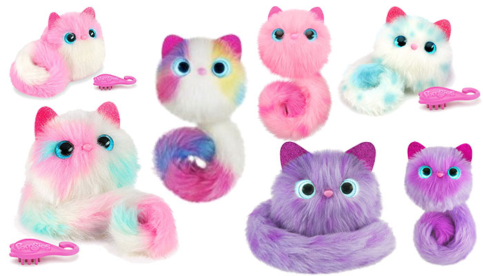 Pomsies Patches Plush Interactive Toys