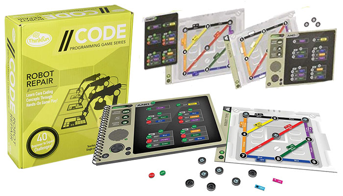 Robot Repair Coding Board Game