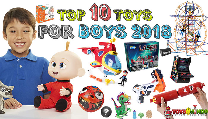 Best Toys for Boys 2018-2019
