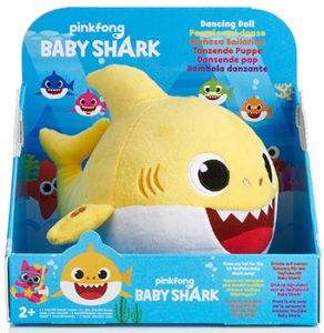 Pinkfong Baby Shark Dancing Doll