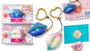 SWAK Sealed With A Kiss Keychain Review