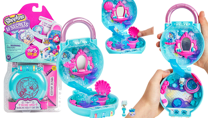 Shopkins Lil' Secrets Mini Playset Review