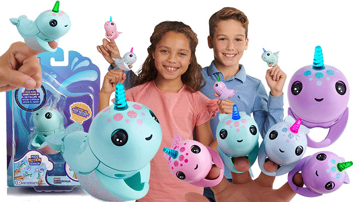 Fingerlings Light Up Narwhal Review