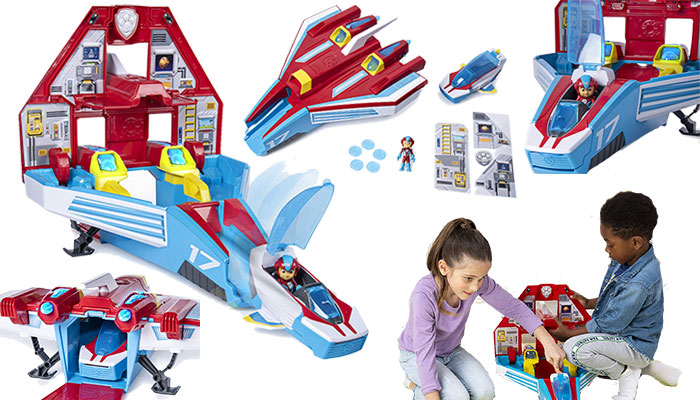 Paw Patrol Mighty Jet Command Center Review
