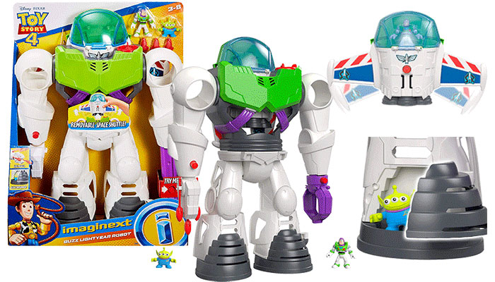 Toy Story 4 Imaginext Buzz Bot Review